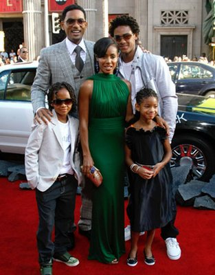 will smith family pictures